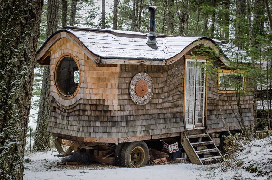 Gypsy Wagon In The Woods Tiny House Swoon