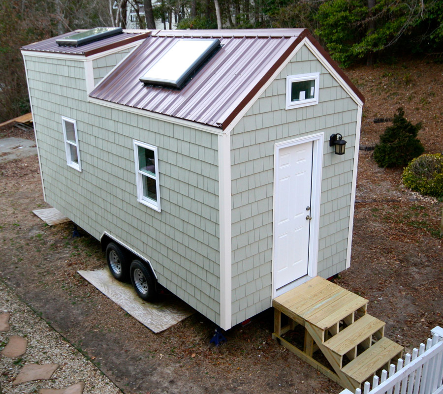 a 160 square feet tiny house - Tiny House Washer Dryer