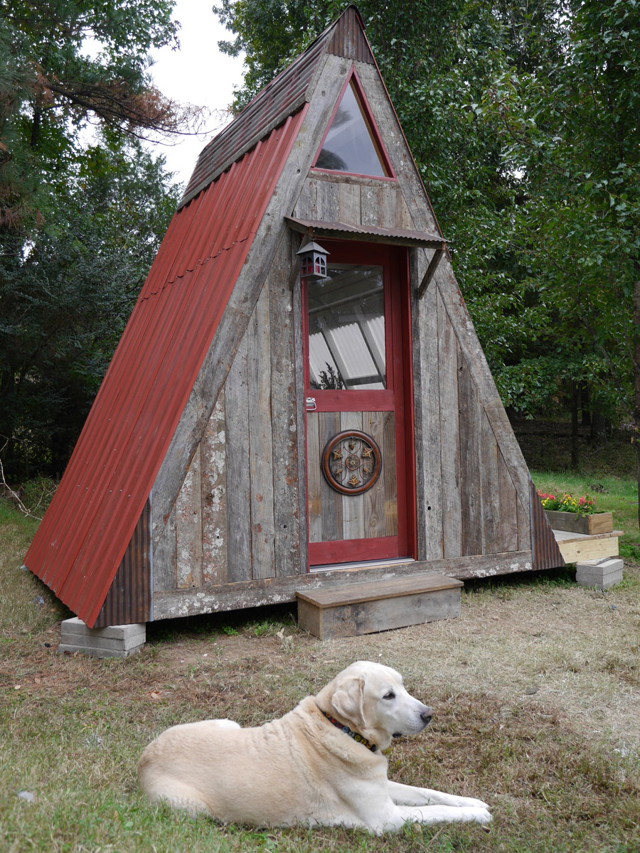 Tiny Home Designs: Transforming A-Frame