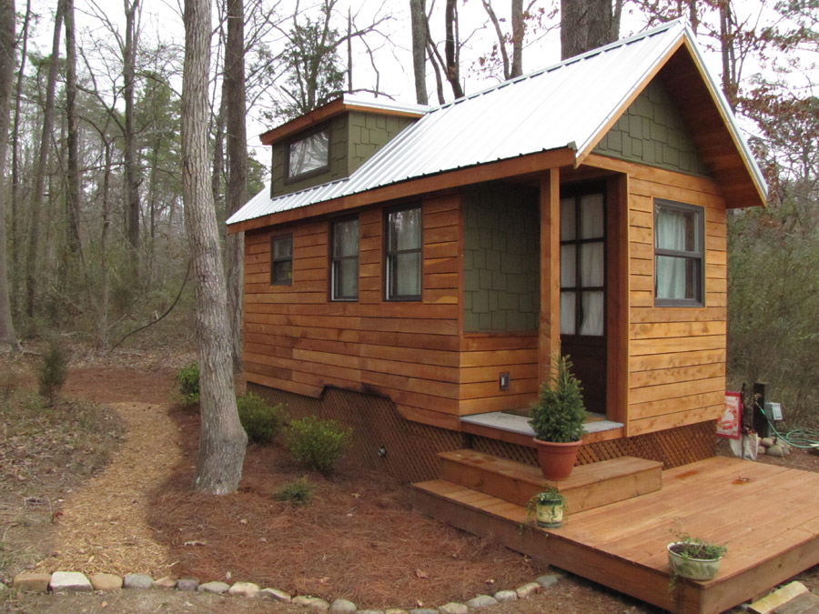 My First Tiny House Building