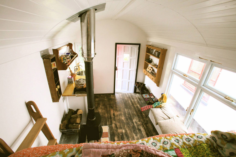 The Red Caravan Tiny House Swoon