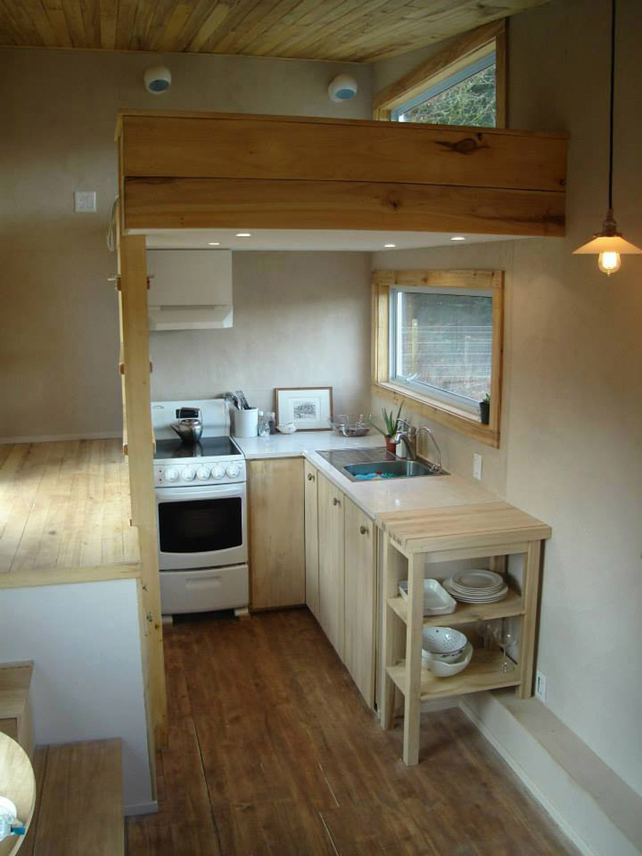 A Tiny House On Wheels Built Using No