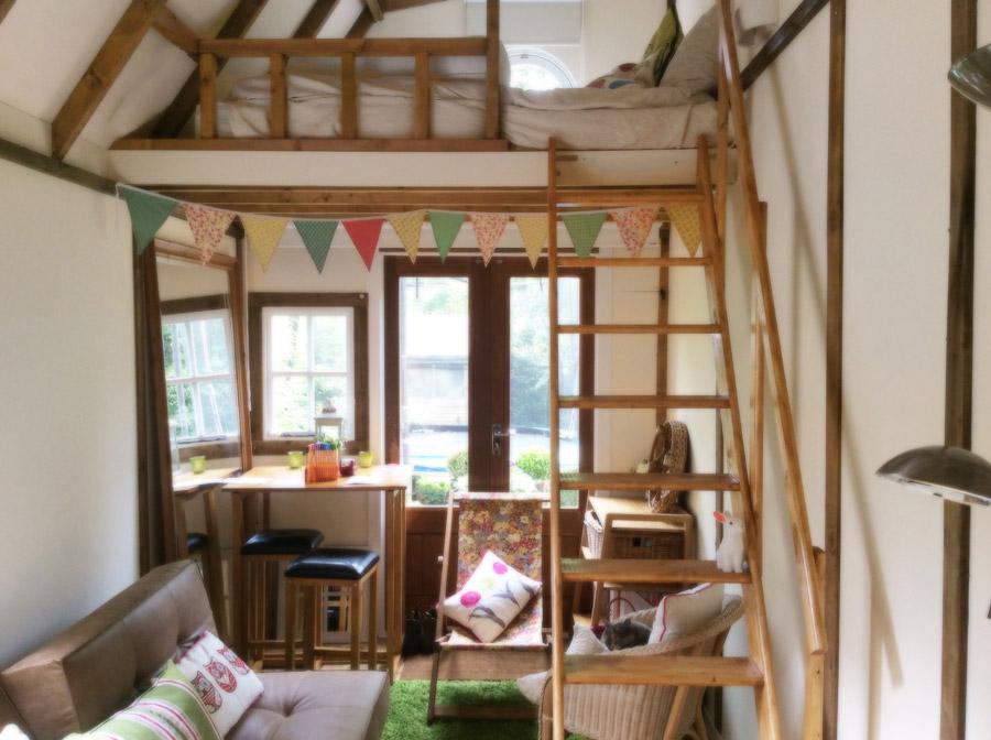 Half Barn Annex Tiny House Swoon