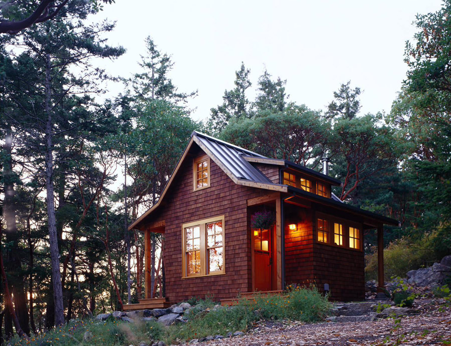 Orcas island cabin tiny house swoon Small homes and cabins