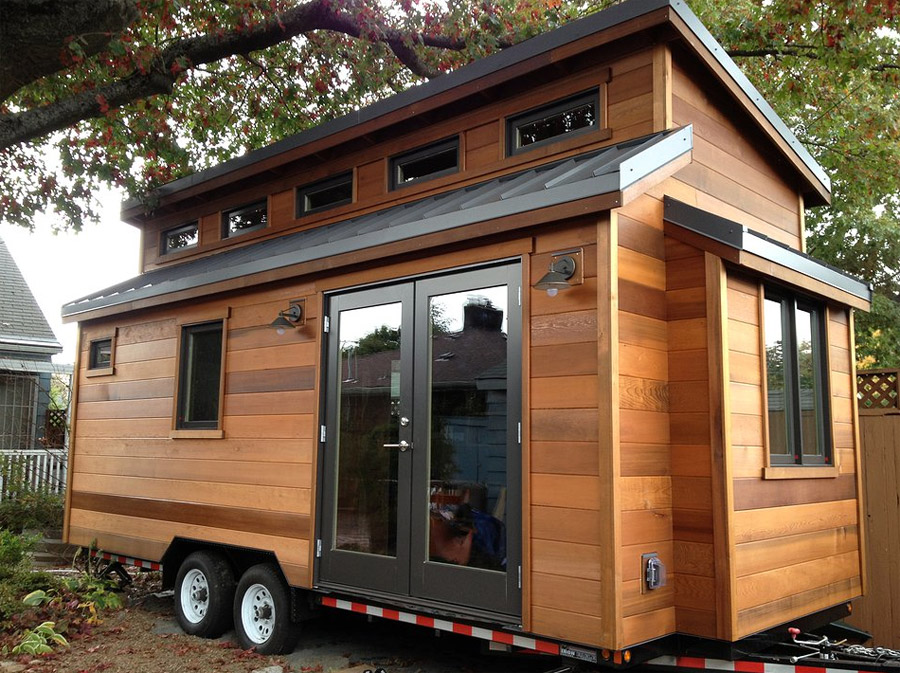 The cider box tiny house swoon for Micro homes on wheels