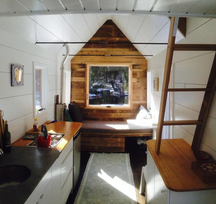 Inside Tiny House On Wheels jones' tiny house – tiny house swoon