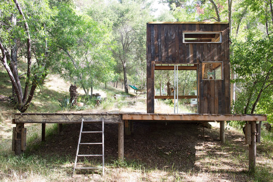 Topanga Cabin Tiny House Swoon