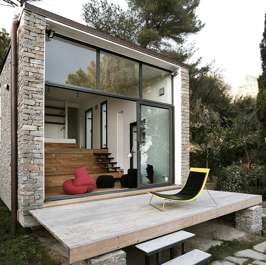 Tre livelli tiny house swoon - The modern tiny house ...