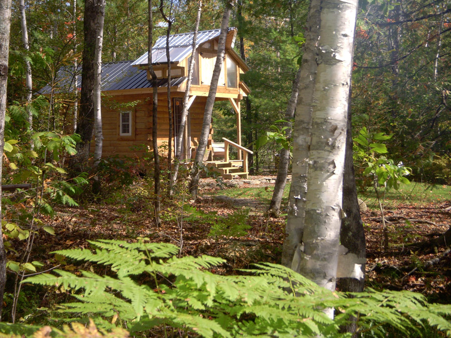 Micro Log Cabin Tiny House Swoon