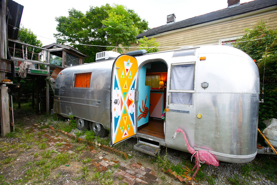 Rusty S Restored Airstream Tiny House Swoon