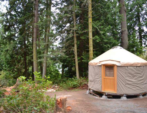 Whidbey Island Yurt