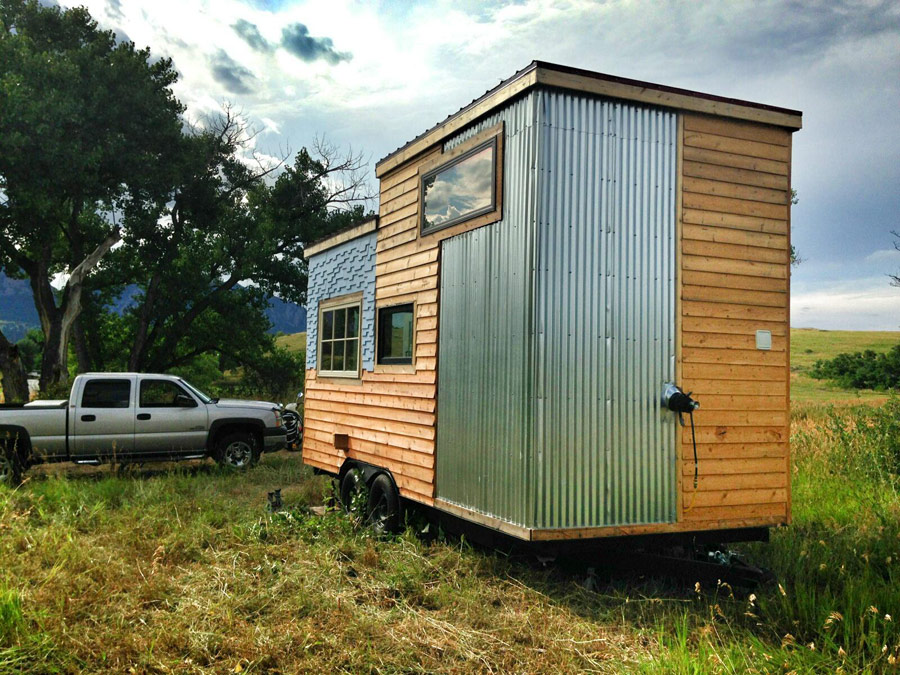 Beautiful Modern 11 A 159 Square Feet Tiny House On Wheels