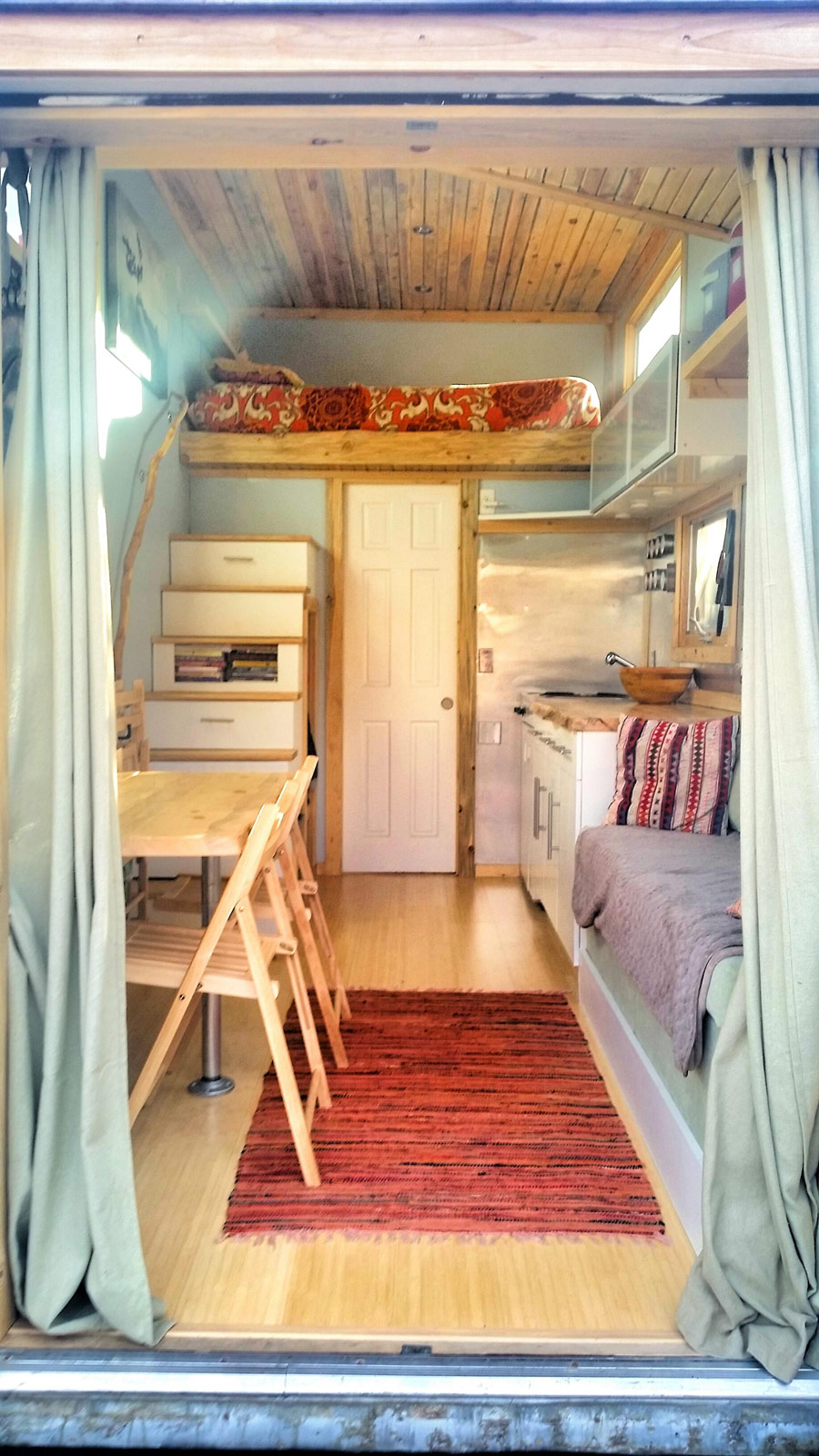 beautiful modern 2 - Tiny House Interior 2