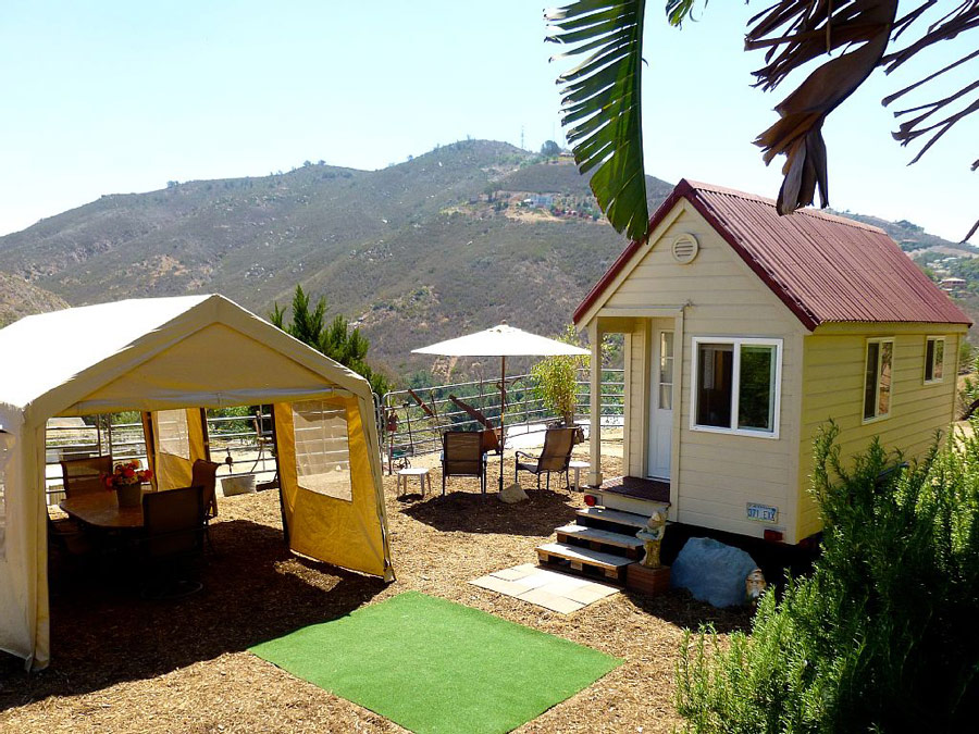 fallbrook tiny house - Tiny Houses California