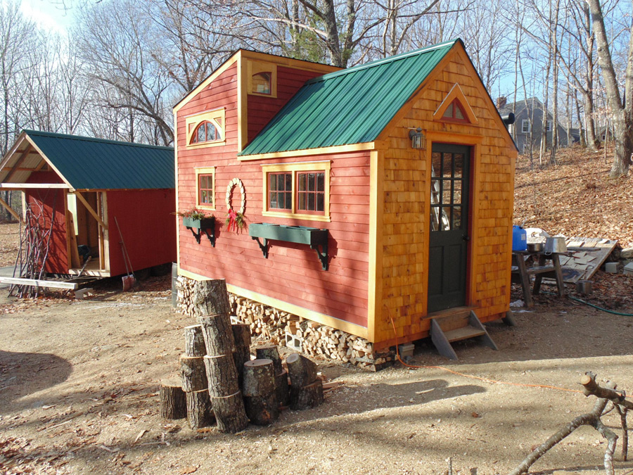 Maine Tiny House Swoon