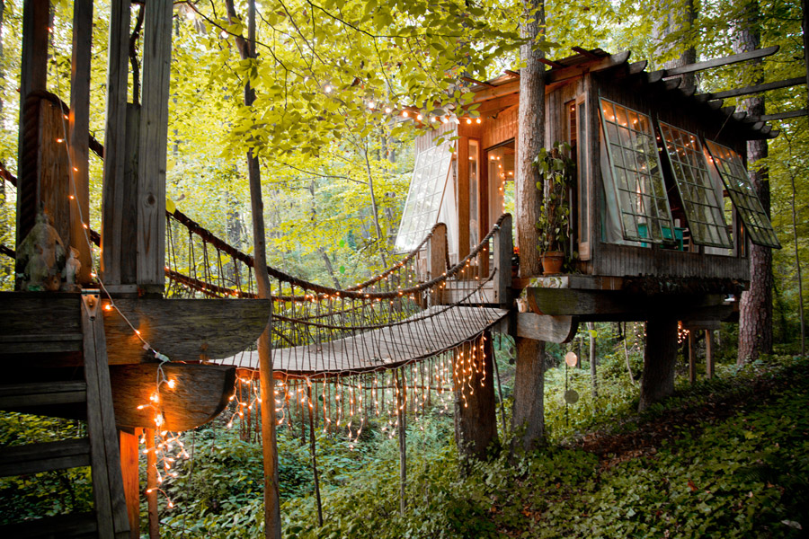 Atlanta Treehouse Tiny House Swoon