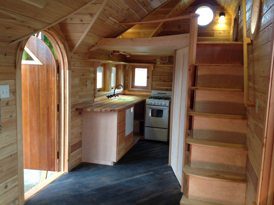pinafore tiny house 2 - Tiny House Stairs 2