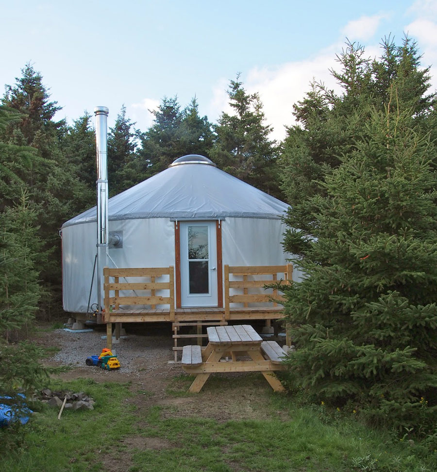 yurts – tiny house swoon