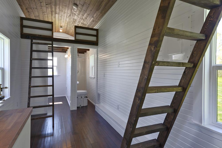 Brilliant The Loft Tiny House Swoon Largest Home Design Picture Inspirations Pitcheantrous