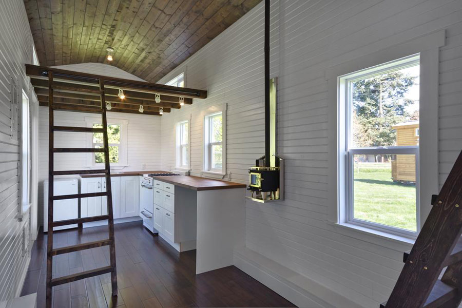 Fine The Loft Tiny House Swoon Largest Home Design Picture Inspirations Pitcheantrous