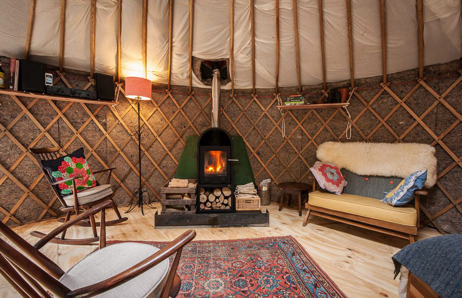 Bramblewood Yurt Tiny House Swoon