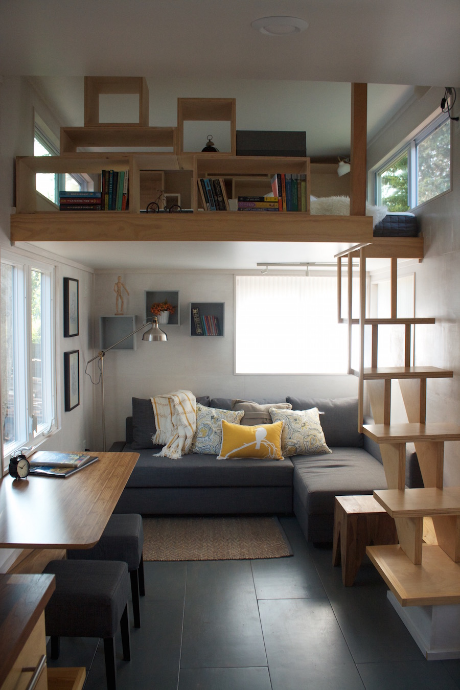 Liberation tiny house tiny house swoon for Modern tiny homes on wheels