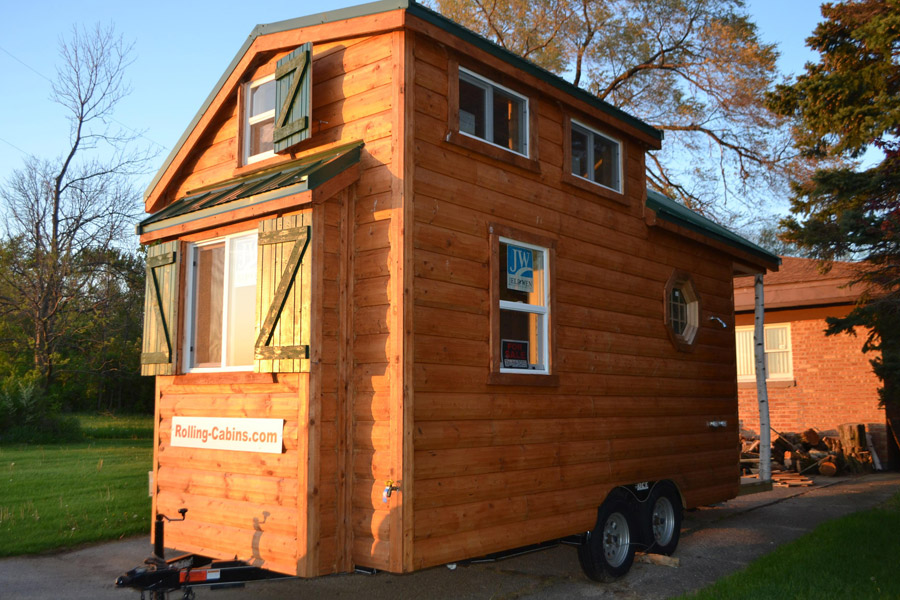 Surprising Tiny Log Cabin Tiny House Swoon Largest Home Design Picture Inspirations Pitcheantrous