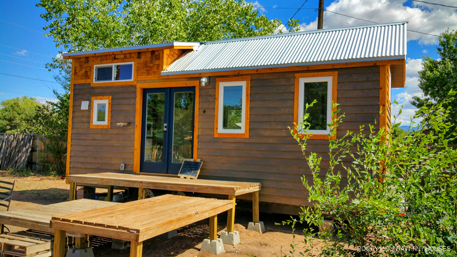 Albuquerque house tiny house swoon for Tiny mountain homes