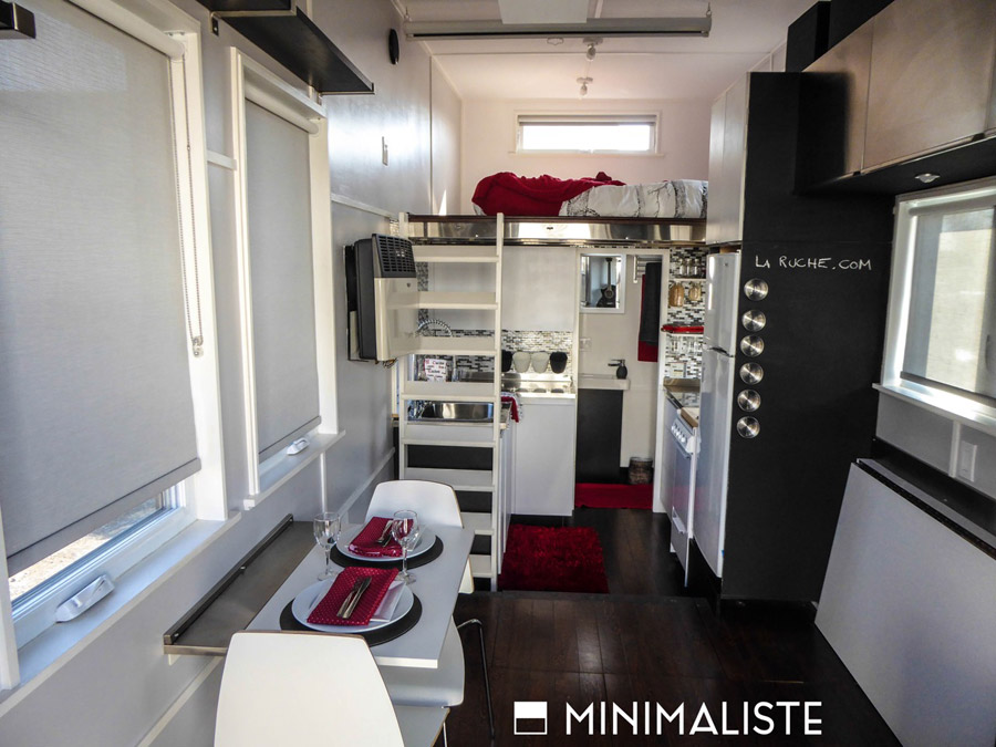 Minmaliste tiny house swoon for Minimaliste houses