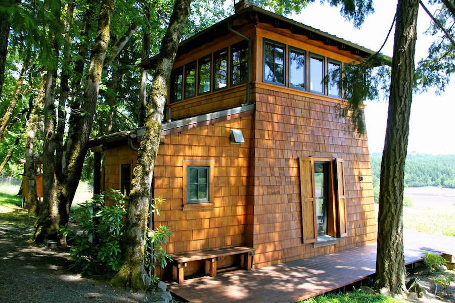 Wine country tiny house swoon Small house cabin