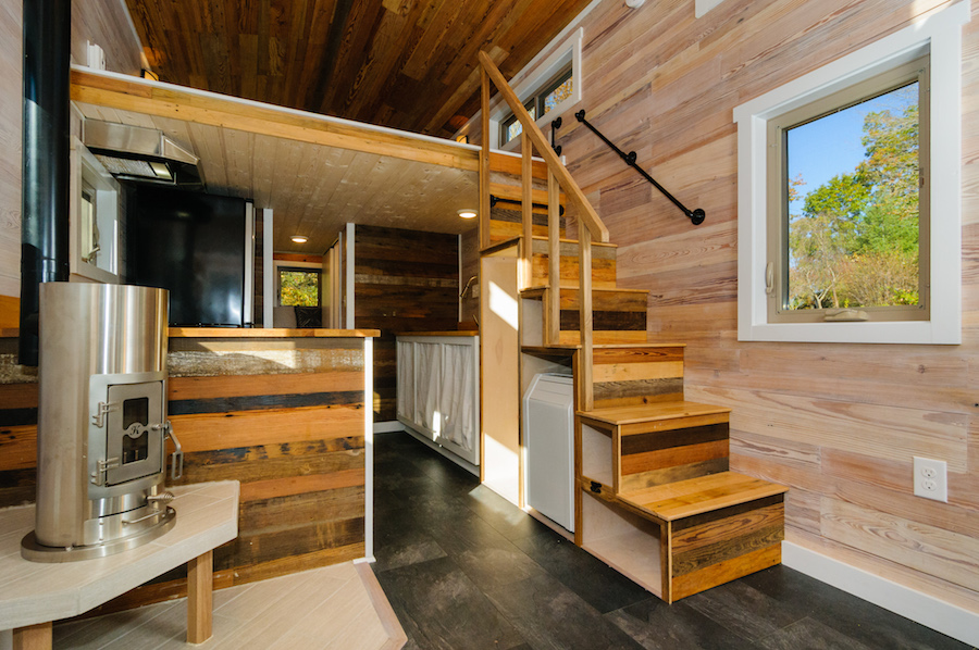 the mh wishbone tiny homes 2 - Tiny House Stairs 2