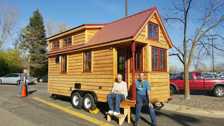 Minnesota Tumbleweed Tiny House Swoon