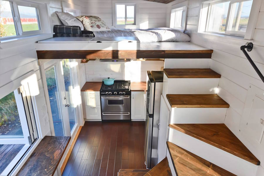 Custom tiny living home tiny house swoon for Tiny house interieur
