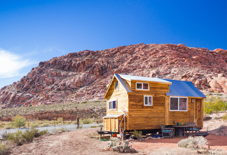 red rocks tiny house - Tiny Houses Real Estate