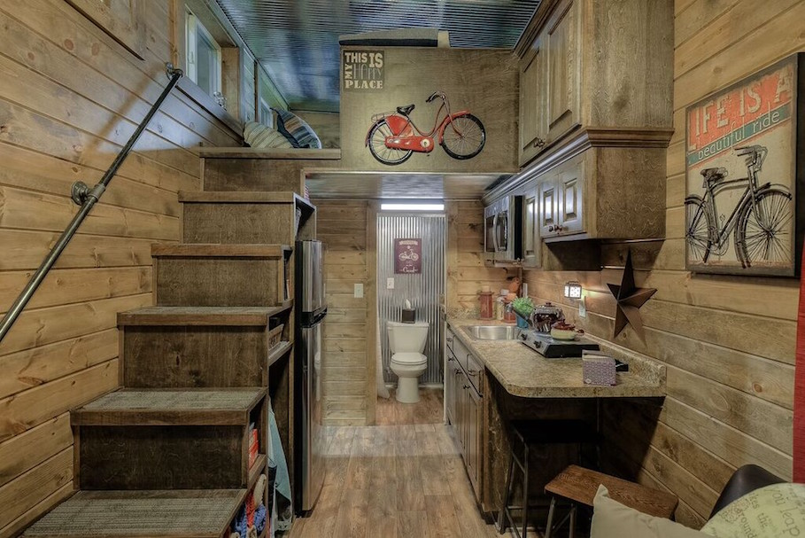 Rustic Container Cabin Tiny House Swoon