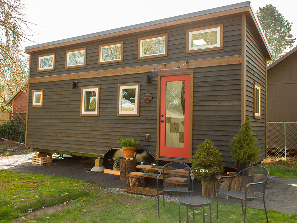 hikari box tiny house modern exterior pad tiny - Tiny House Modern