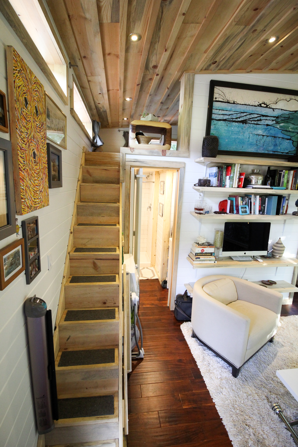 Pleasing Urban Cabin Tiny House Swoon Largest Home Design Picture Inspirations Pitcheantrous