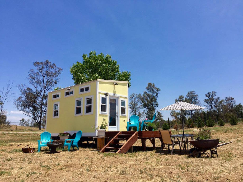 tiny house vacation rental Tiny House Swoon