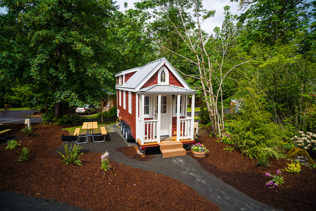 Mt Hood Tiny House Village Scarlett Tumbleweed