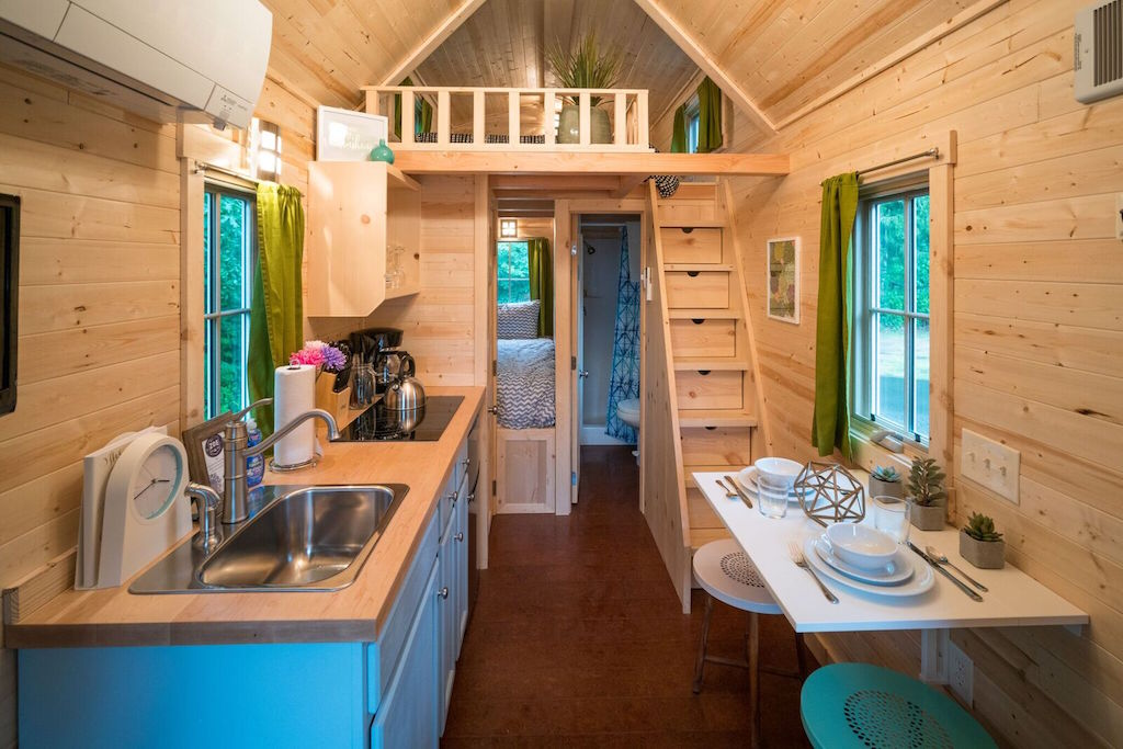 Zoe Tiny House Village Cypress Tumbleweed Mount Hood