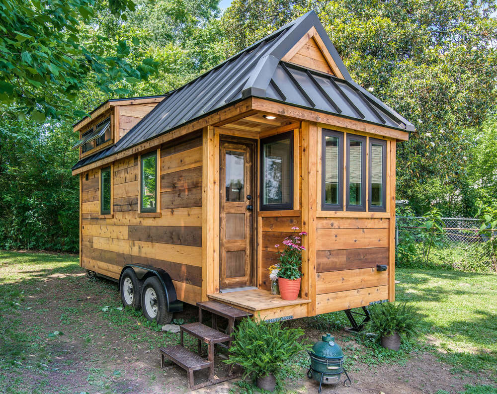 Cedar mountain tiny house swoon for Little house