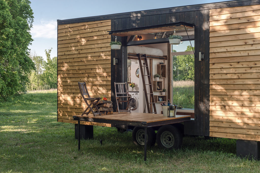 David Latimer New Frontier Tiny Homes