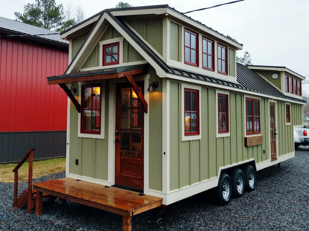 Farmhouse Luxury Gooseneck Tiny House