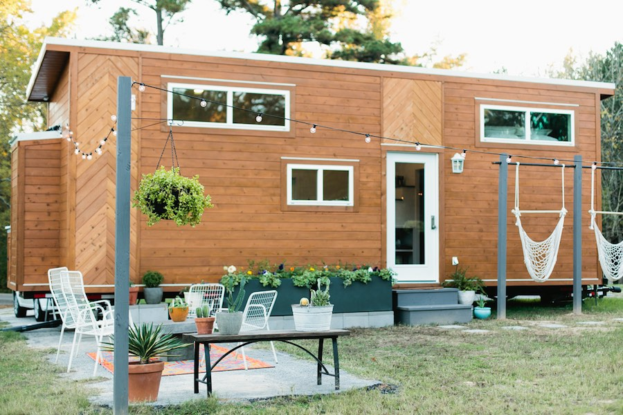 golden american tiny house 1 - Pictures Of Tiny Houses