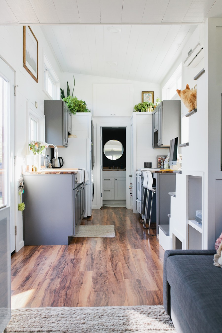 Golden tiny house swoon for Small house interior
