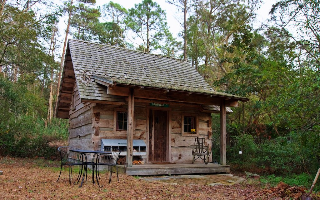Very small log cabins cabin north carolina tiny house for Very small cottages