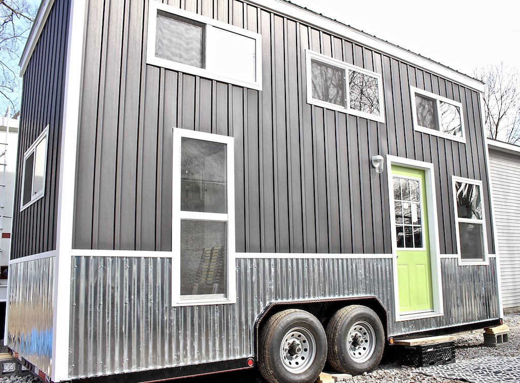 chic-shack-lime-green-mini-mansions-tiny-homes-1