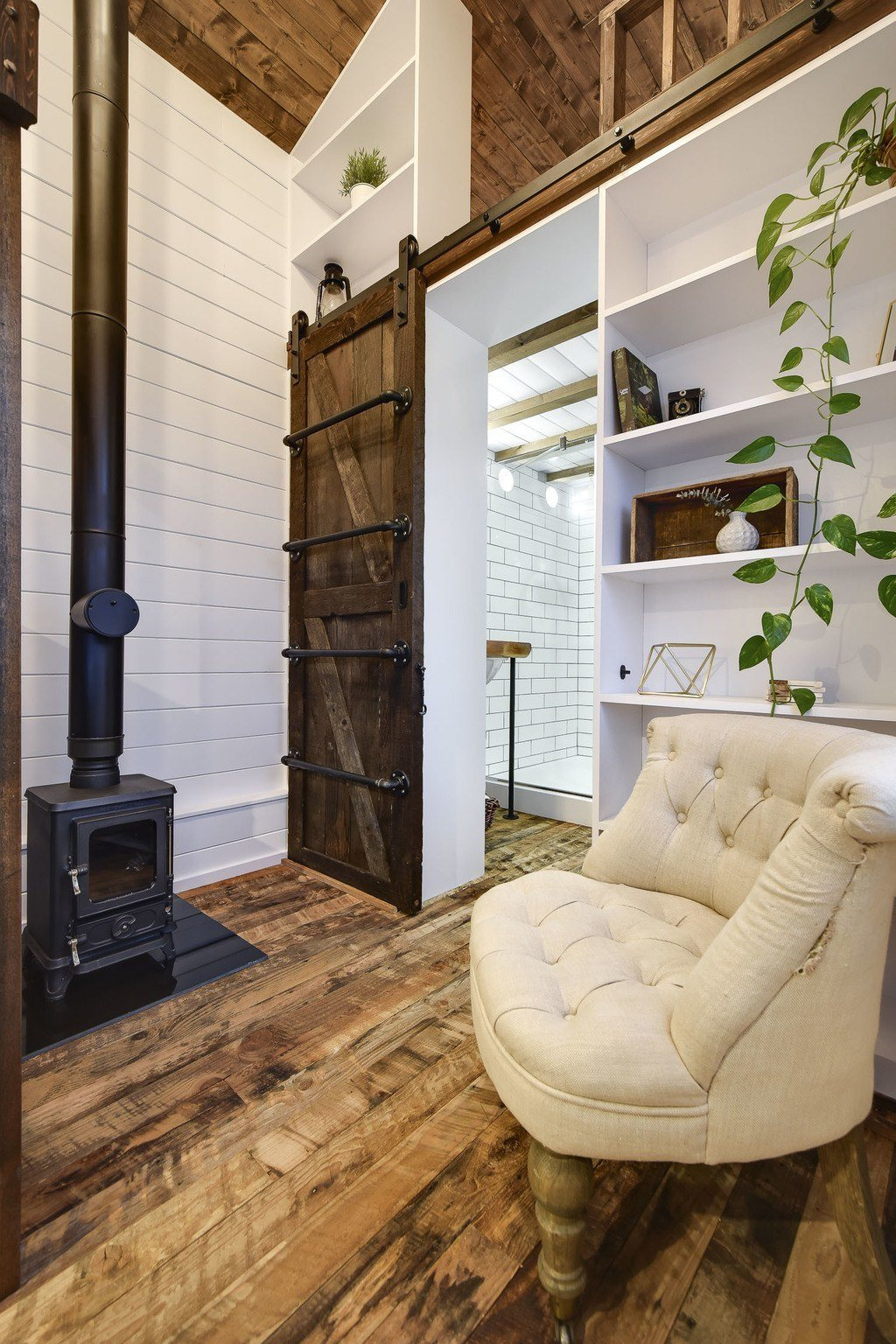 Rustic Loft Tiny House Swoon - rustic tiny house ideas