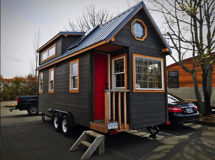 Micro mansion tiny house swoon for Tiny house mansion