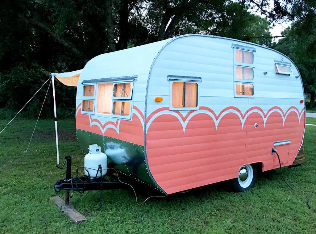 1955 Dalton Camper Tiny House Swoon